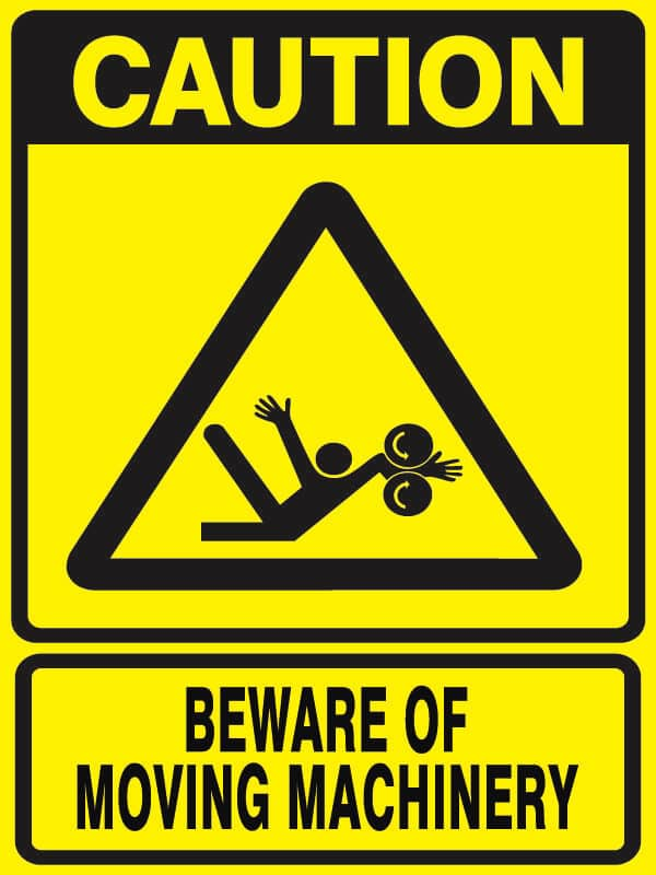 CB-21 Beware-of-Moving-Machinery
