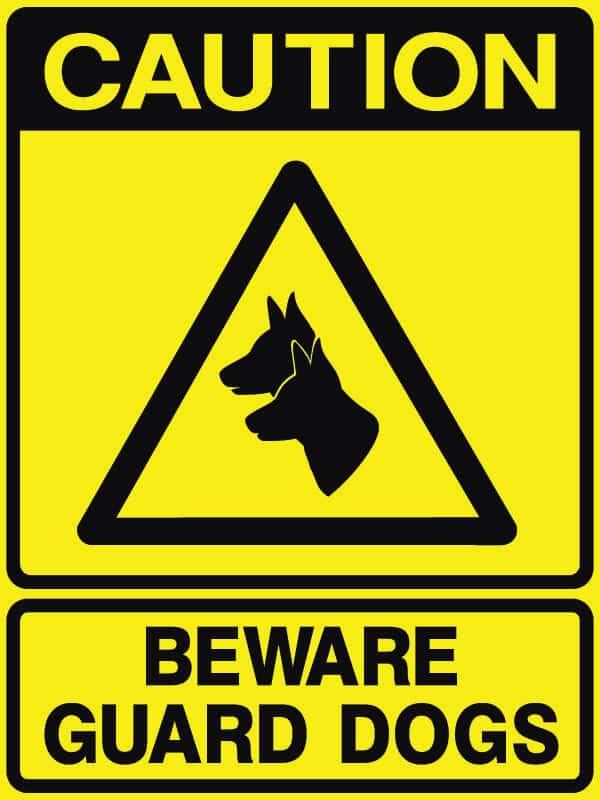 CB-29 Beware Guard Dogs