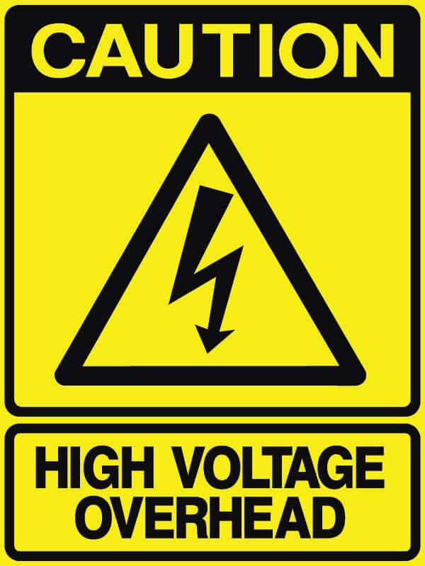 CB-33 High Voltage overhead