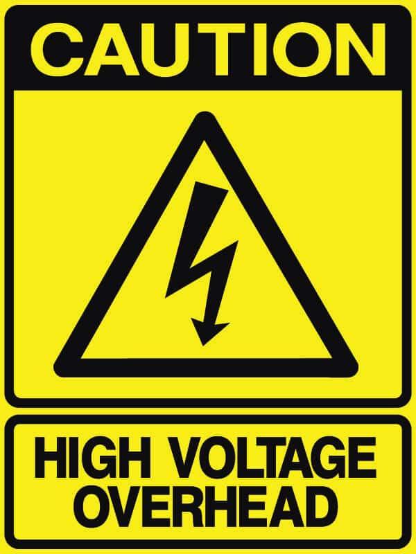 CB-33 High Voltage overhead