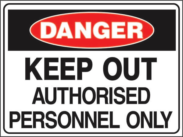 DS-49-keep-out-authorised-personnel-only