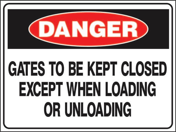 DS-49 Hazardous Waste-gates-to-be-kept-closed