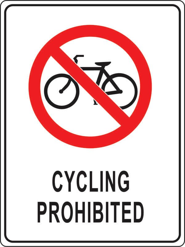 PS-1 cycling-prohibited