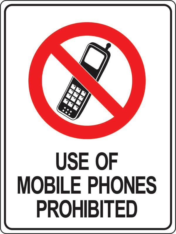 PS-1 use-of-mobile-phones-prohibited