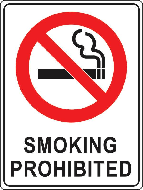PS-1 smoking-prohibited
