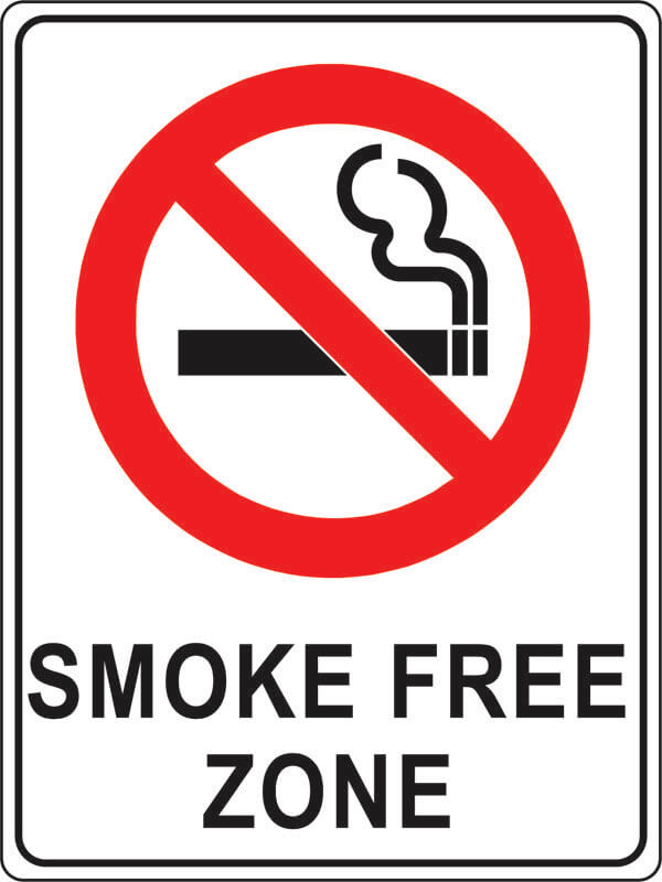 PS-1 smoke-free-zone