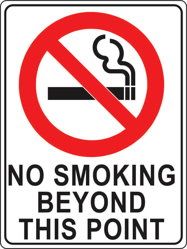PS-1 no-smoking-beyond-this-point