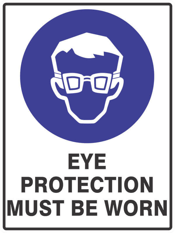 SM1 EYE PROTECTION - signsmart - signs