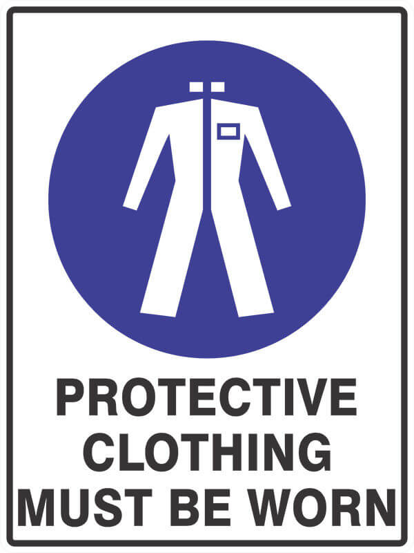 SM10 PROTECTIVE CLOTHING - signsmart - signs
