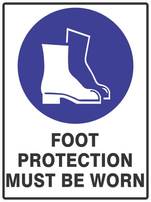 SM2 FOOT PROTECTION - signsmart - signs
