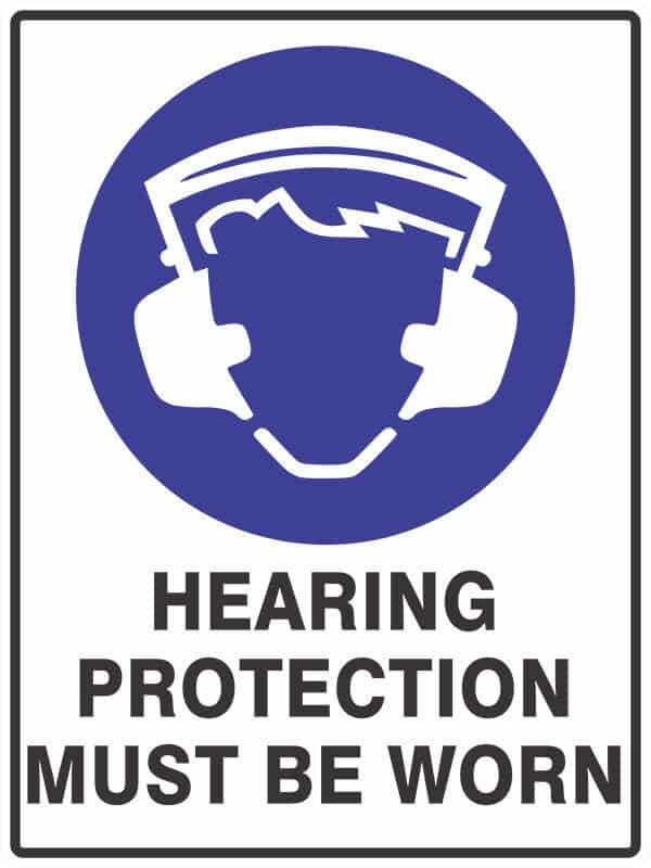 SM4 HEARING PROTECTION - signsmart - signs