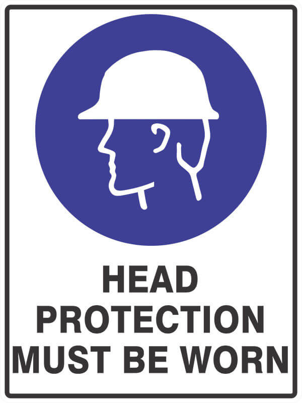 SM5 HEAD PROTECTION- signsmart - signs