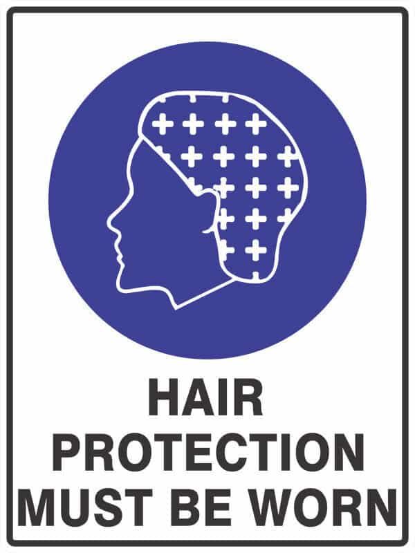 SM8 HAIR PROTECTION - signsmart - signs