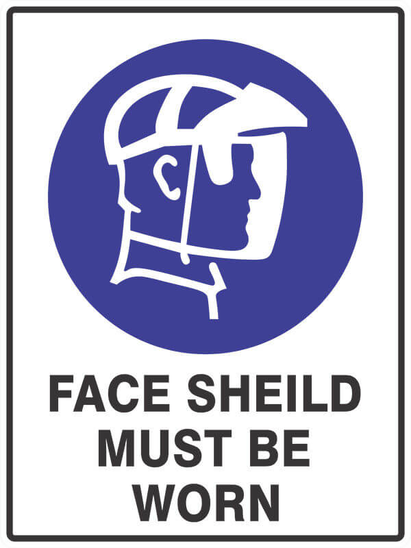 SM9 FACE SHEILD - signsmart - signs