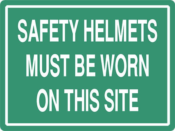 SS14 SAFETY HELMETS - signsmart - signs