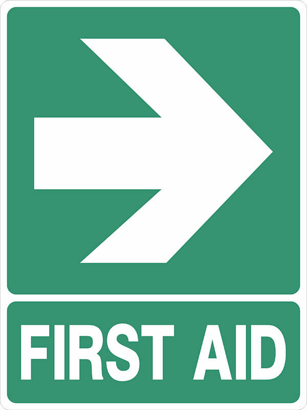 SS2 ARROW POINTING - signsmart -first-aid-signs