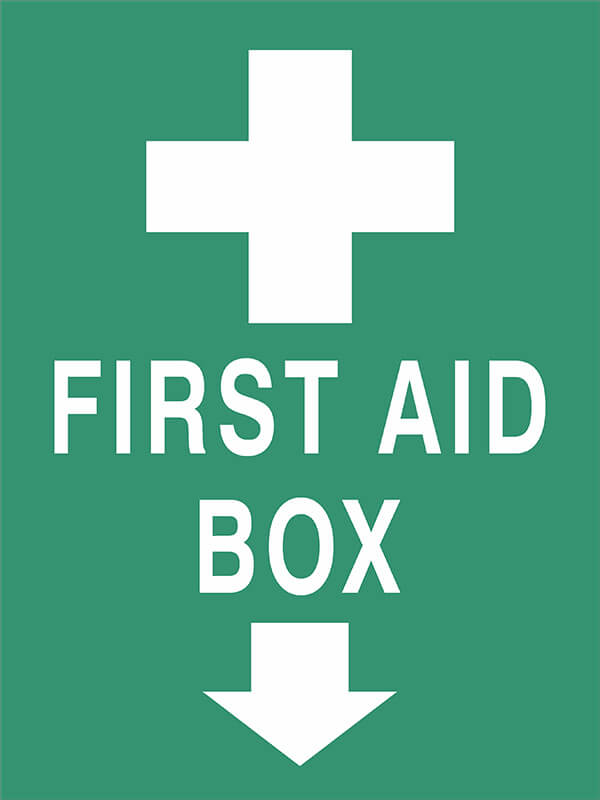 SS21 FIRST AID BOX - signsmart - signs