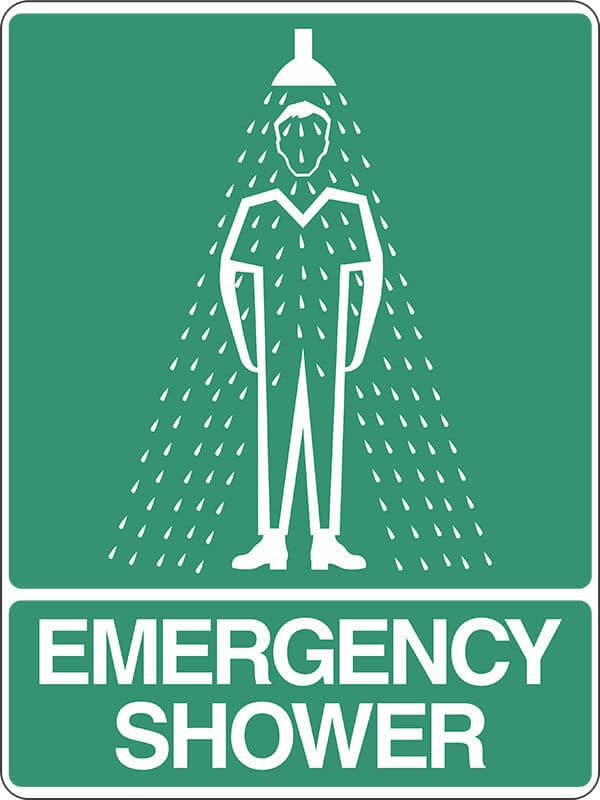 SS3 EMERGENCY SHOWER - signsmart - signs