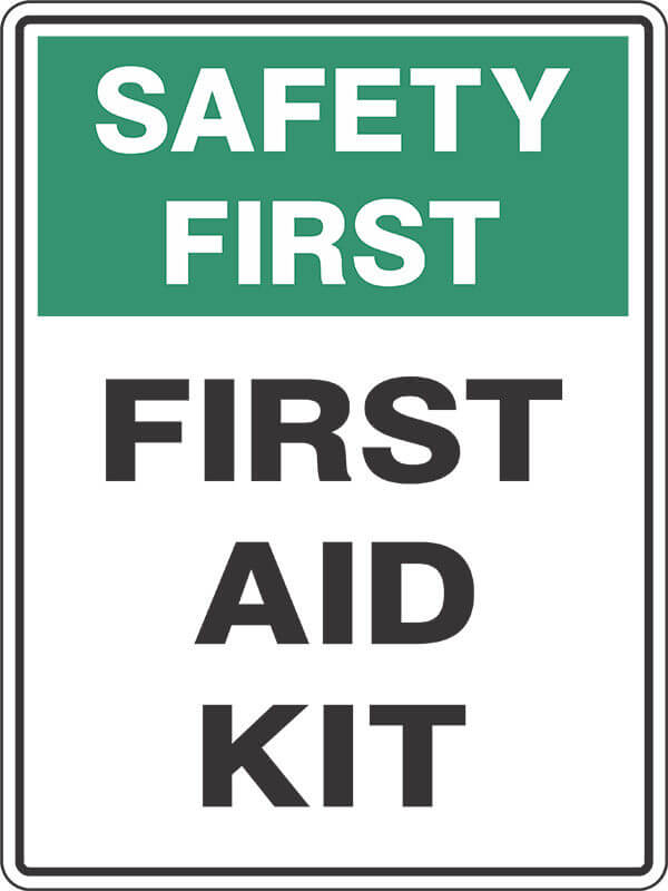 SS7 FIRST AID KIT - signsmart - signs