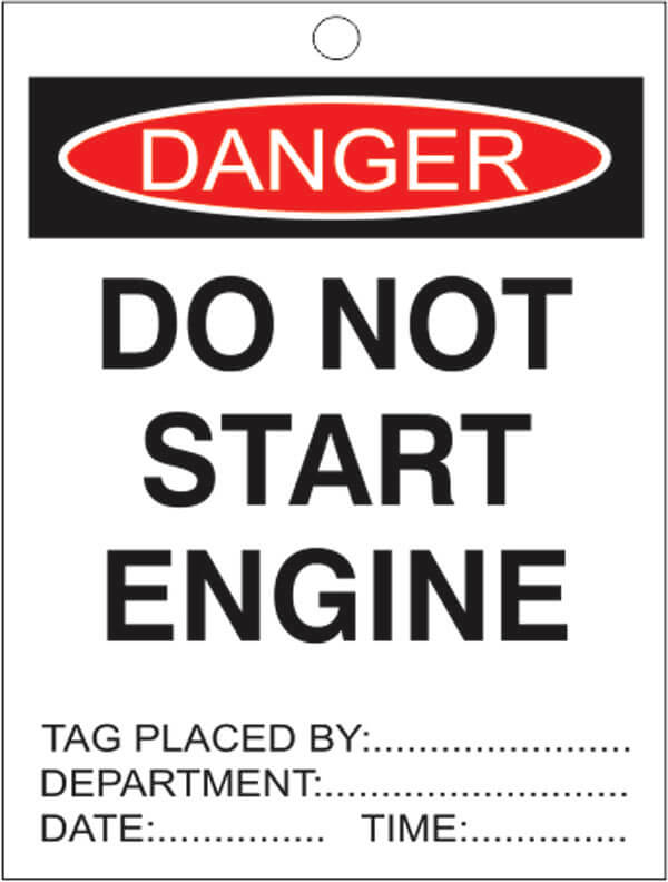 TAGS DT 12-do-not-start-engine-signsmart
