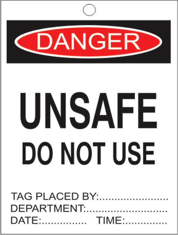 TAGS DT 8-unsafe-do-not-use-signsmart