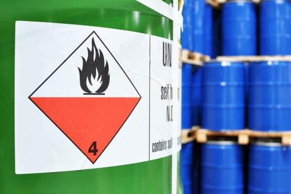 dangerous goods signs and labels
