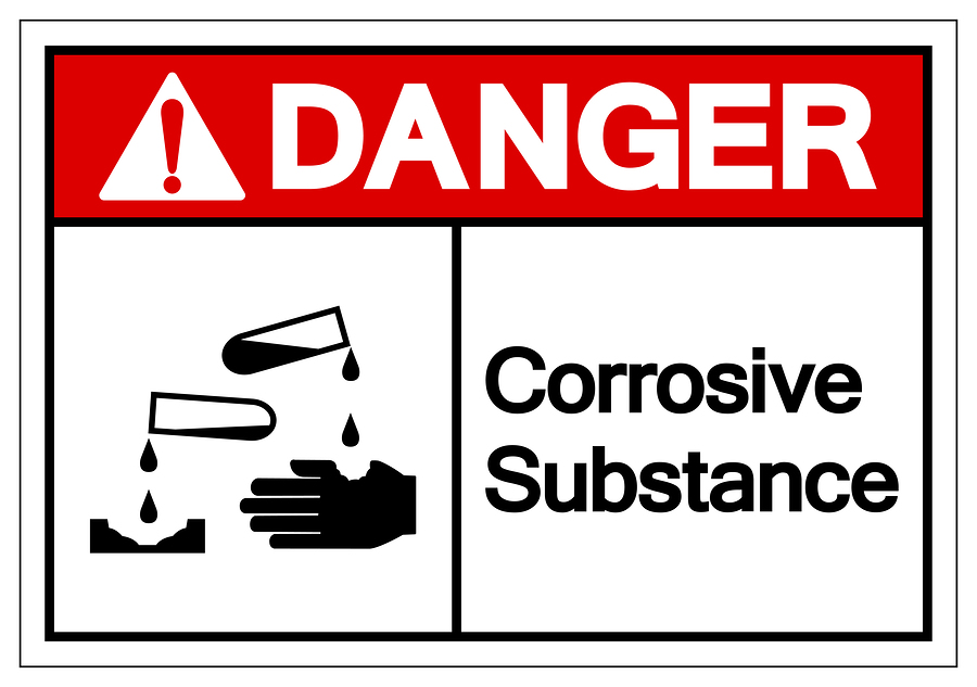 dangerous goods label