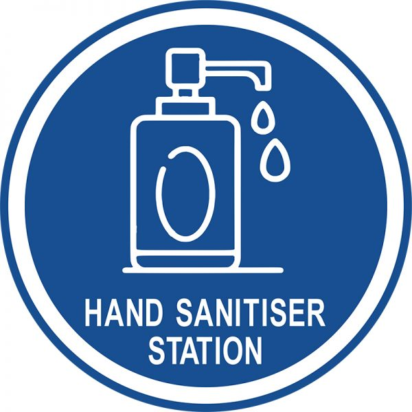 covid-floor-disc-hand-sanitiser-station