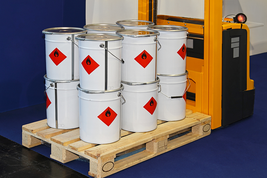 dangerous goods labels and meanings