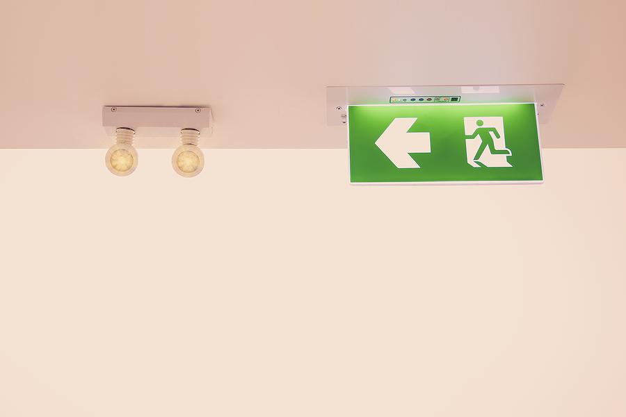 emergency exit keep clear