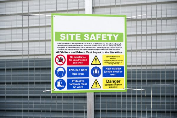dangerous goods signs